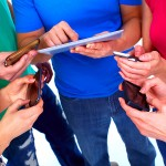 Human-hands-with-tablet-computer-smartphones