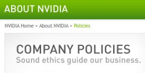 Nvidia-ethics