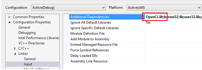 OpenCLNVIDIA_AdditionalDependencies