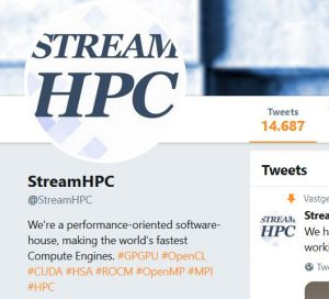 Recent Twitter Polls Results - StreamHPC
